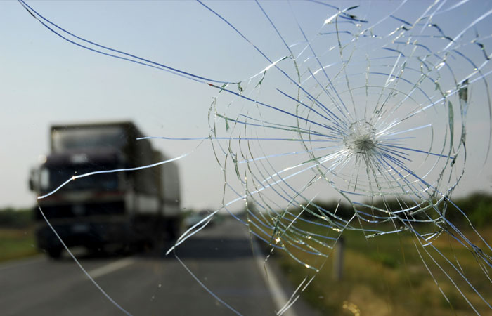 Broken Windshield